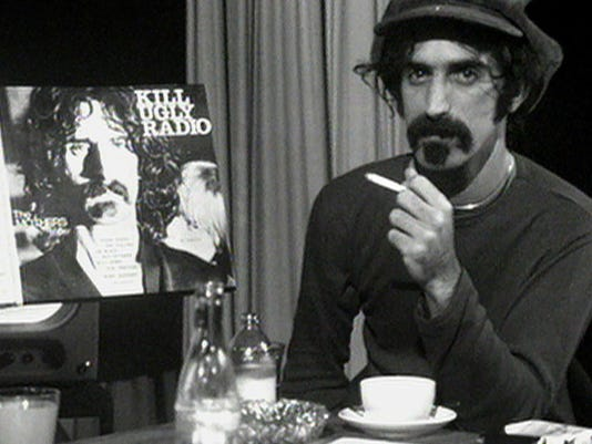 Movie review: Documentary lets Frank Zappa do the talking