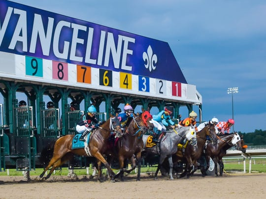 Evangeline Downs is located near Opelousas in Acadiana.