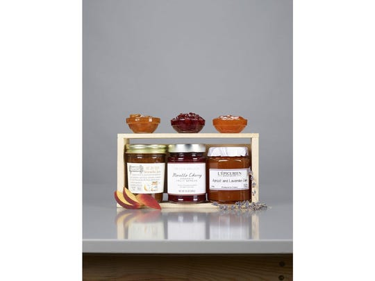 This combo of three stone fruit jams is a sure way to bring a summer vibe to any holiday party. Peachy Sriracha, Apricot & Lavender and Morello Cherry will help your host relive summer all winter long. $29 at deandeluca.com.