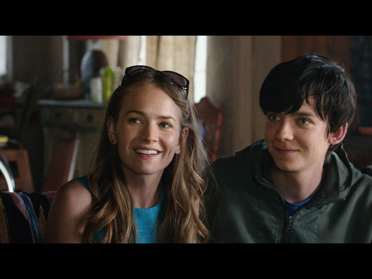 """Britt Robertson and Asa Butterfield star in """"The Space Between Us."""""""