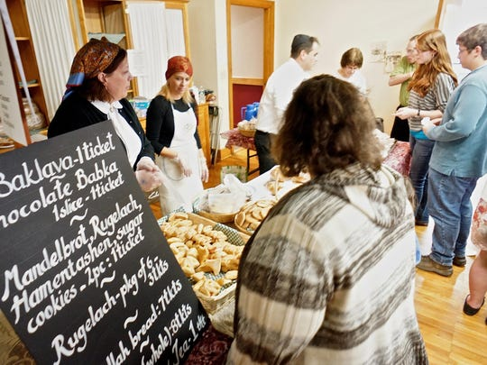 The Jewish Food Festival will feature all manner of treats on Sunday.