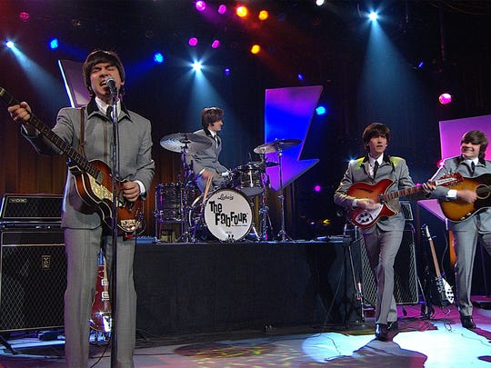 "The Fab Four Beatles tribute plays favorites such as ""Can't Buy Me Love,"" ""Yesterday"" and ""Hey Jude."" Catch them 8 to 10 p.m. March 23 at Willamette University. $40 to $55 or $10 with student ID."