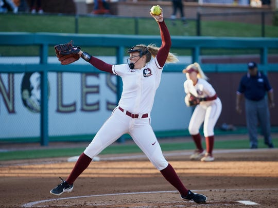 FSU starter Meghan King hasn't allowed a run in 20.1 innings the Seminoles completed a sweep of N.C. State Sunday.