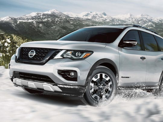 The Rock Creek Edition's features toughen the Pathfinder's appearance.
