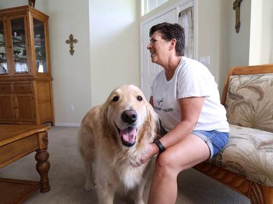 Who's a good boy? Florida dog helps detect owner's seizures