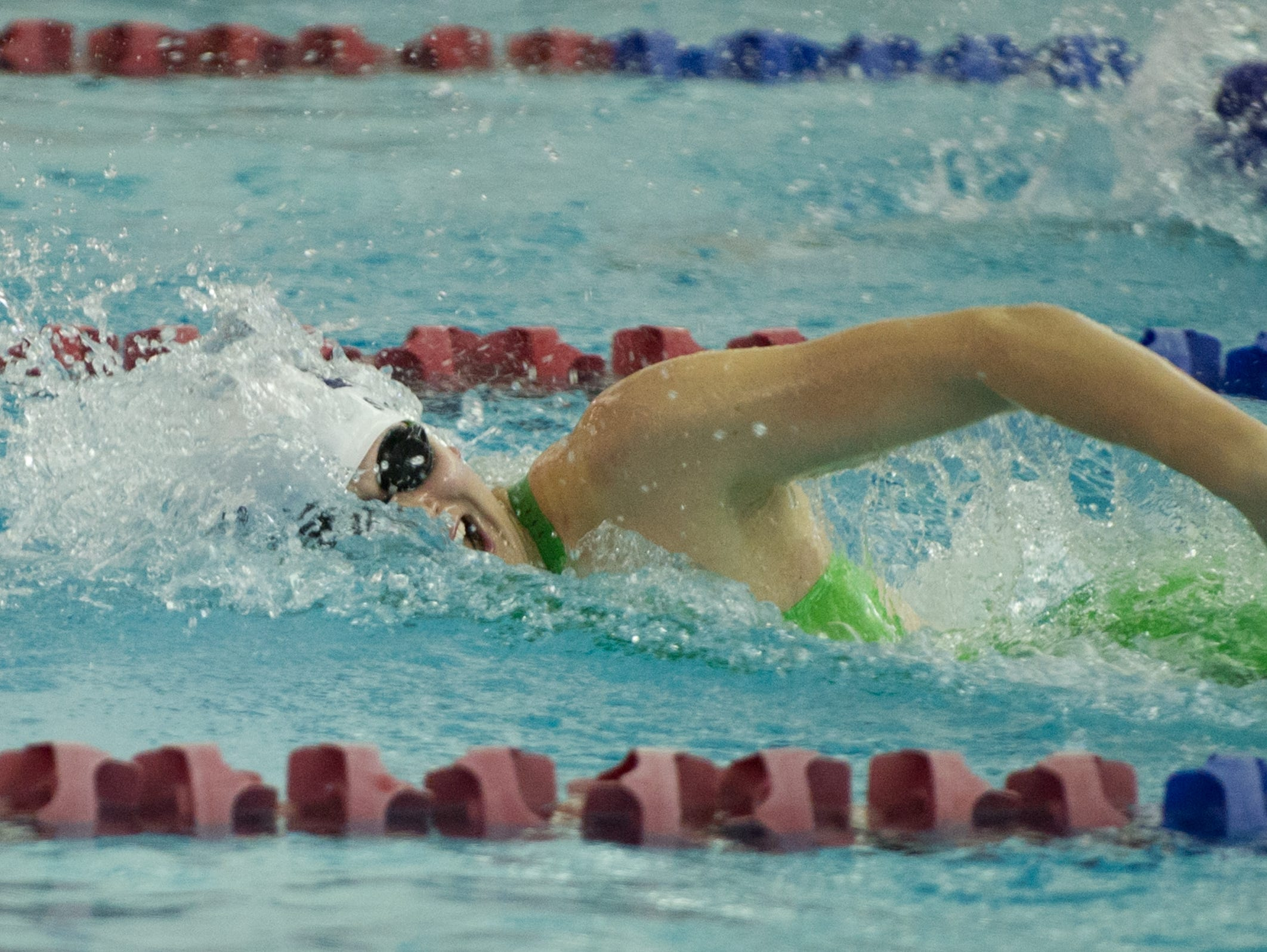 Pittsford swimmer Lindsay Stone in the 200-yard freestyle.