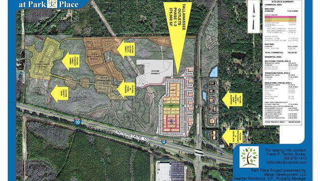 New outlet mall proposed for Tallahassee is proposed for the northeast and northwest corner of Capital Circle Northwest and I-10.