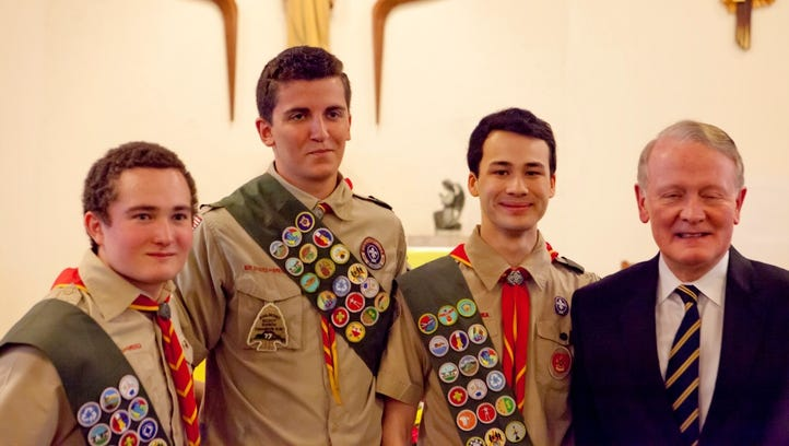 WATCH: Scouts honored for bear-attack rescue
