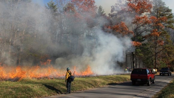 Great Smoky Mountains National Park will hold a prescribed burn in Cades Cove Oct. 4-6.