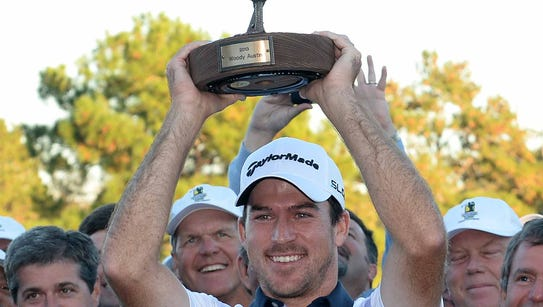 Nick Taylor, 26, overcame a four-shot deficit to win