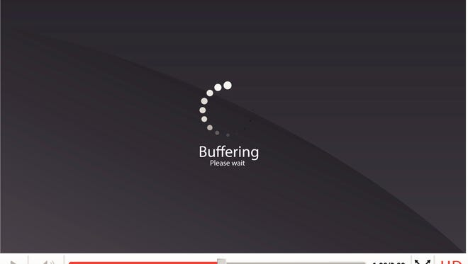 If it's taking a long time for your video to load, and you are getting notification that the video is buffering during this time, then it usually means that there is an issue with your internet connection or that the connection you are using is not fast enough to load the data you are trying to download in a reasonable amount of time.