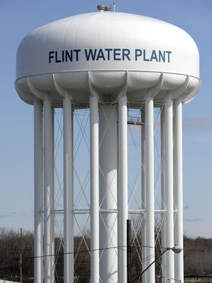 Flint Water Plant along Dort Highway