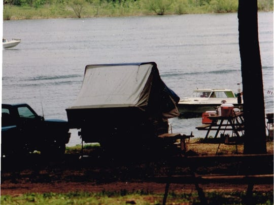 Camping near the water is a great family adventure.