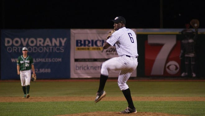 The Wisconsin Woodchucks Orsen Josephina has been one of the top closers in the Northwoods League this summer as he entered Wednesday with 14 saves.