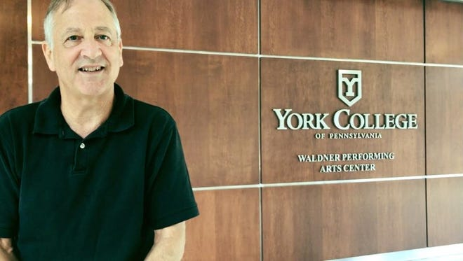 York College History and political science Prof. Peter Levy said we often forget that history repeats itself. Jana Benscoter/photo