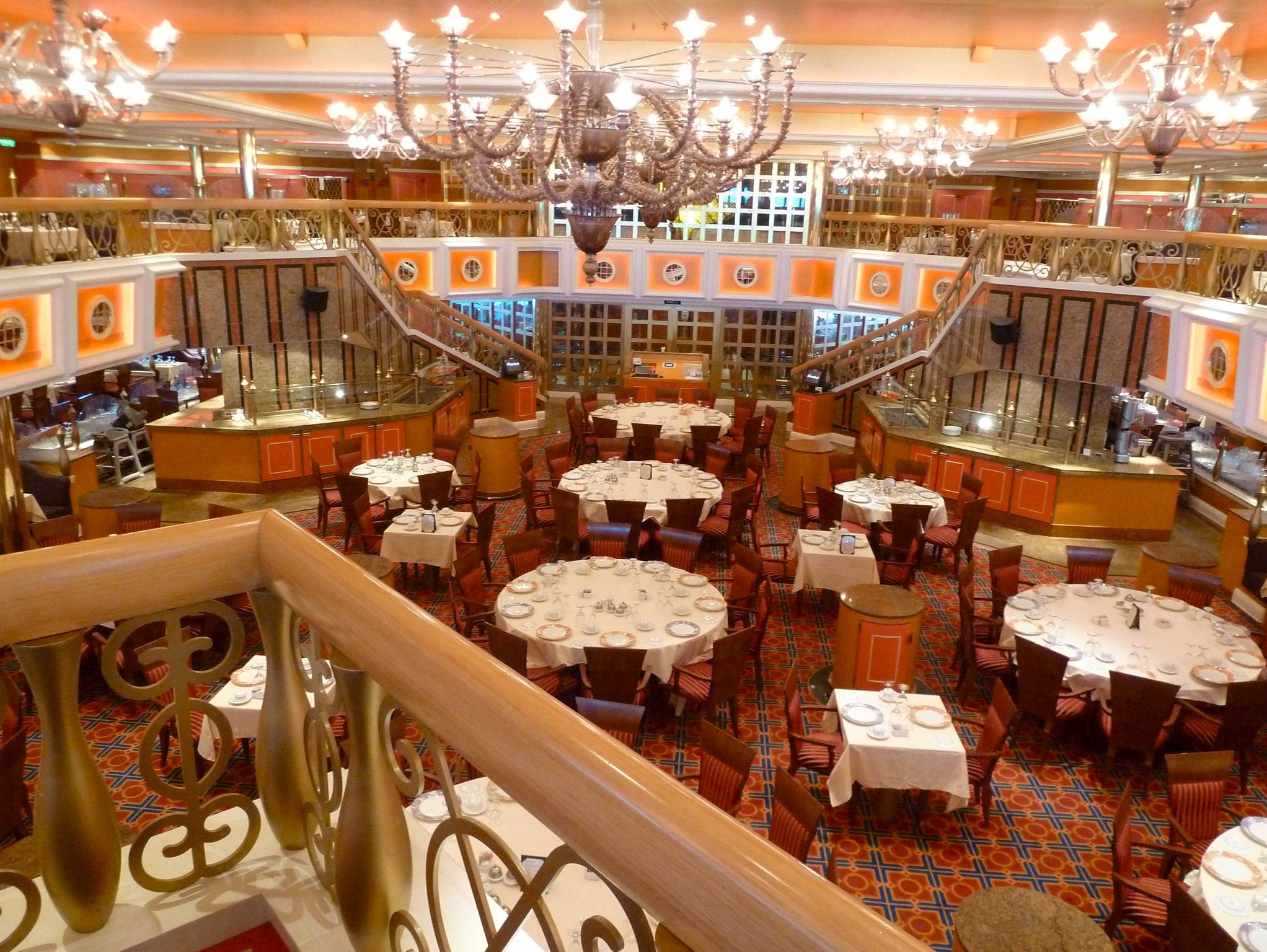 Carnival to resume cruises out of norfolk for Public dining room 50 off