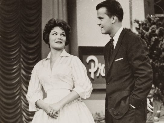 Connie says she owes everything to Dick Clark, who