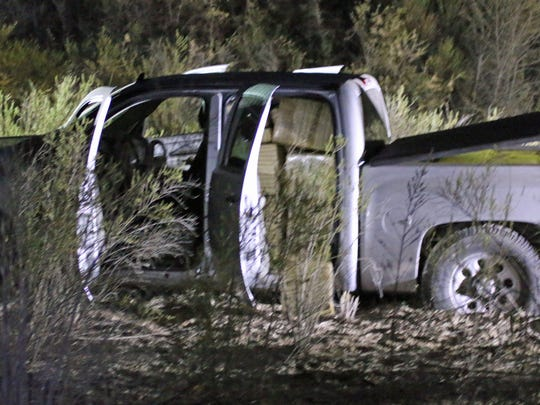 A smuggling vehicle carrying more than 1,800 pounds of marijuana was intercepted by Yuma Sector Border Patrol agents