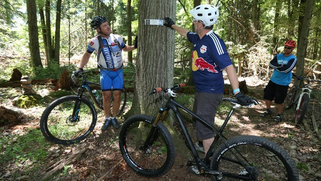 Central Iowa Trail Association will sponsor Take Your Kid Mountain Biking Day on Saturday at Grandview Park, 2300 E. 32nd St.