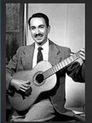 Paredes used his guitar and the music of the border