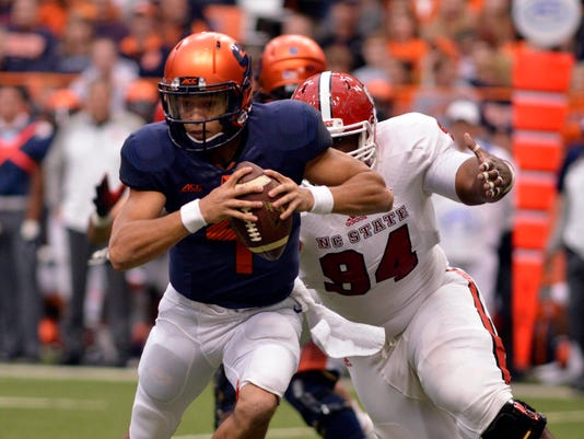 NCAA Football: North Carolina State at Syracuse