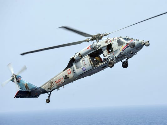 Knighthawk Navy Helicopter