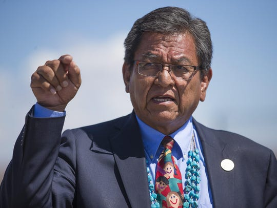 Navajo Nation President Russell Begaye.