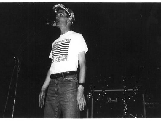 "Rex Andrew in June 1990 sang ""Don't Burn That Flag"