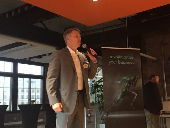Dan Templin, senior vice president of Mediacom Business,