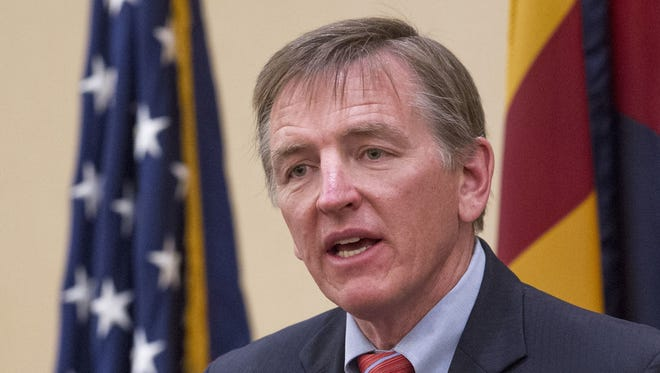 U.S. Rep. Paul Gosar still has not bought a home in his adopted district. He rents an apartment in Prescott but primarily lives in Flagstaff.