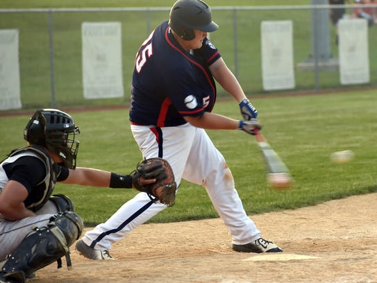 Austin Suders returns to the Chambersburg baseball