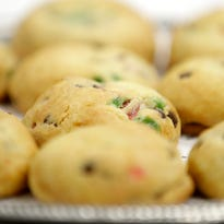 """Festive Almond Butter Cookies recipe: """"It is the holiday fruit cake, but enjoyable!"""""""
