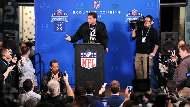 Andrew Luck had his combine experience in 2012.
