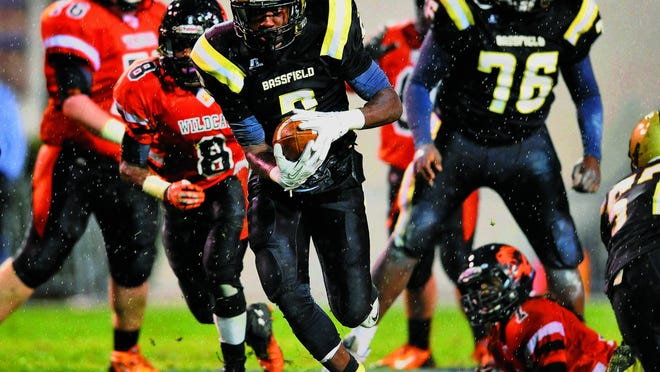 If Jamal Peters and Bassfield are to repeat as state champs, the state's top prospect would play his final game at Davis Wade Stadium. Peters has committed to Mississippi State. File photo/The Clarion-Ledger