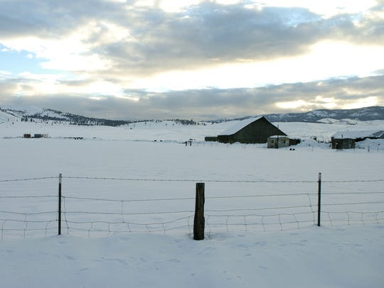 Heinz Ranch, on land north of Reno, is shown in 2005.