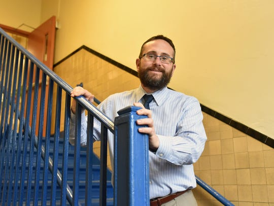 R.M. Bacon Elementary School Principal Spike Cook will