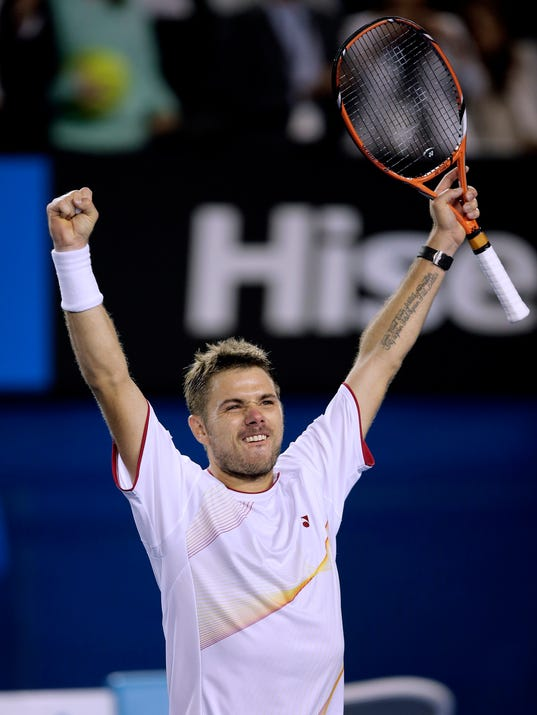 2014-01-21 Stan wins over Novak