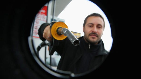 Filler up? Gasoline prices have dropped 23 straight days and are likely to fall further.