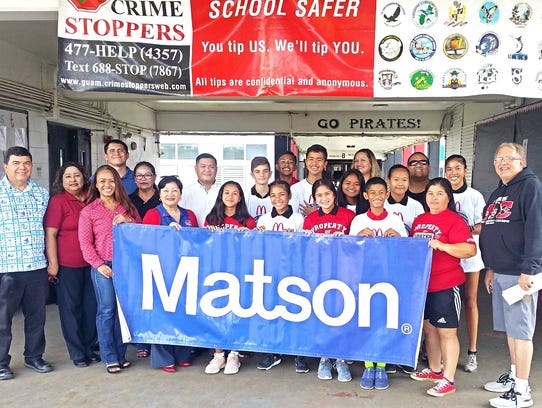 The Guam Crime Stoppers along with Matson Navigation