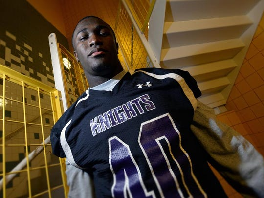 Devin White of North Webster is the Times 2014 All Area Offensive player of the year