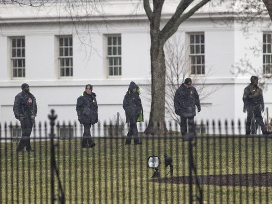 AP WHITE HOUSE LOCKDOWN A USA DC