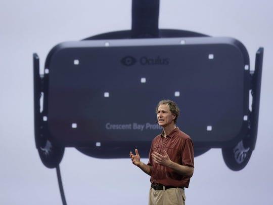 Michael Abrash, chief scientist for Oculus, talks about