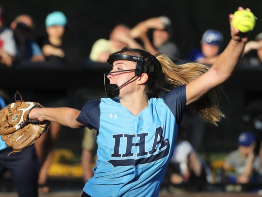 Olivia Sprofera went 20-3 with a 0.96 ERA to help lead IHA to its third straight Non-Public A championship and the TOC title. Sprofera is The Record Softball Pitcher of the Year.