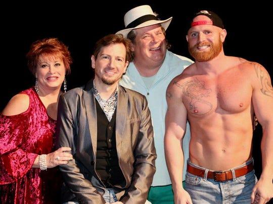 Darren Knight, second from left