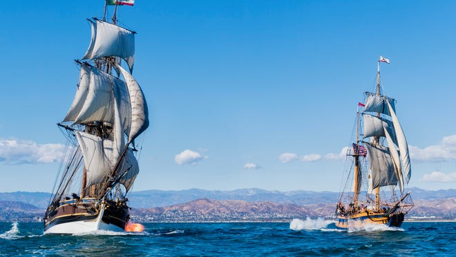 Tall Ships Lady Washington and Hawaiian Chieftain may not return to Newport in July due to concerns over parking, impacts on businesses and congestion on the docks.