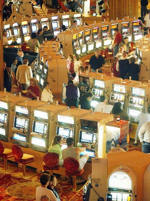 The Mohegan Sun resort and casino is located in Uncasville, Conn., on the Mohegan Indian Reservation.