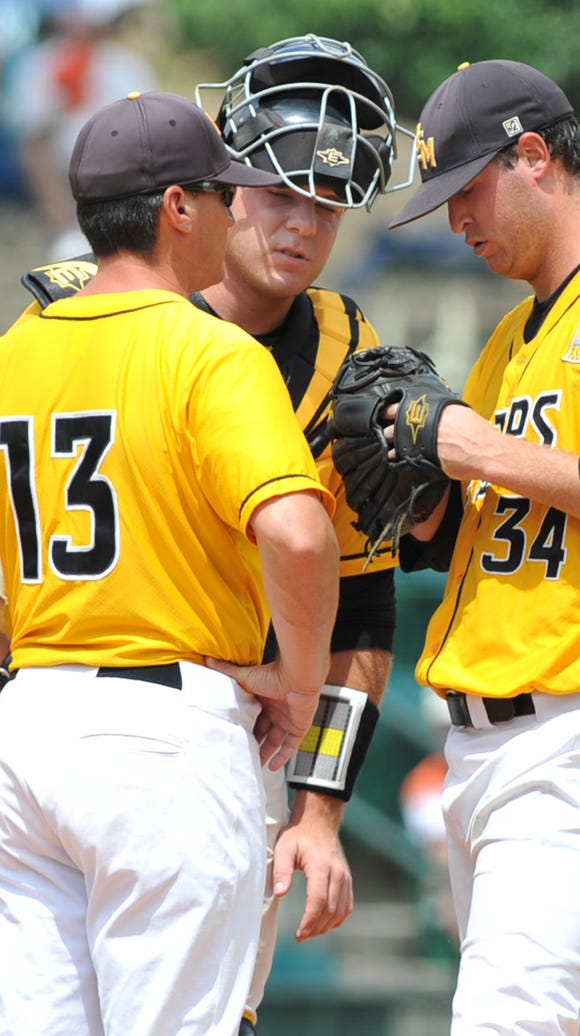 Federico (13) has coached nine All-Conference USA pitchers