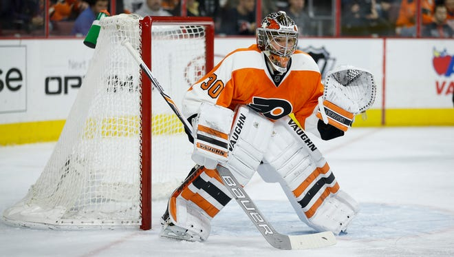 Michal Neuvirth made 29 saves in his latest win for the Flyers, a 4-2 victory over the Arizona Coyotes Saturday.