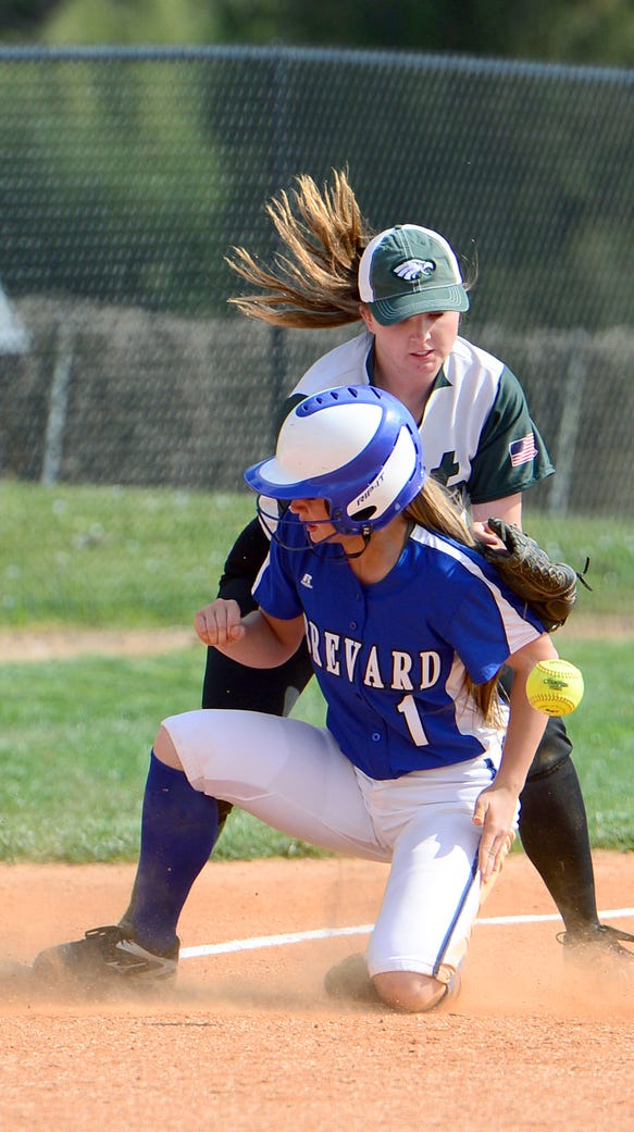 The Brevard Blue Devils defeated the East Henderson