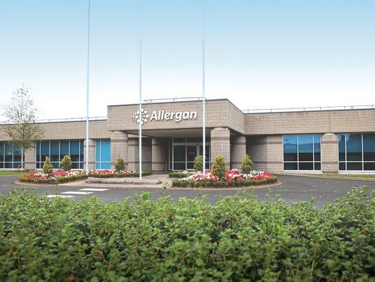 Allergan headquarters in Westport, Ireland.